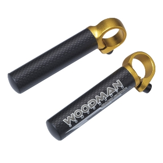 Bar End - CHUPA CARBON L Woodman